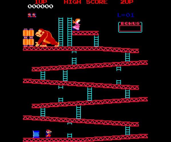 Spel på 80-talet - Donkey Kong