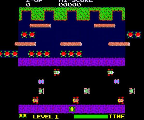 Spel på 80-talet - Frogger