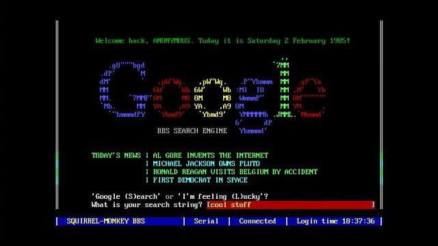 Google på 80-talet!