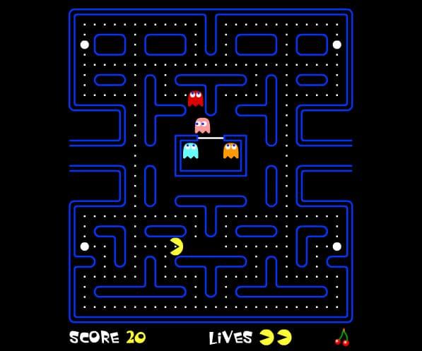 Spel på 80-talet - Pacman