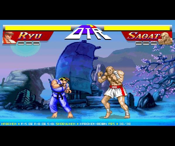 Spel på 80-talet - Street fighter 2