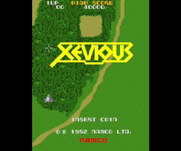 Spel på 80-talet - Xevious