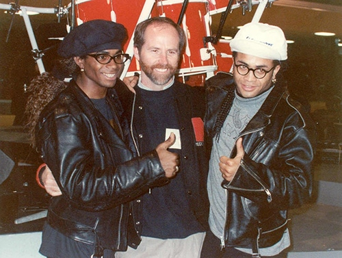 Popgruppen Milli Vanilli 80-talet